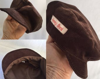Paperboy Cap, Paperboy Hat, Cap, Hat Baby Cap, Baby Hat, Driving Hat