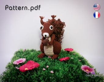 Pattern - Nuts the Squirrel