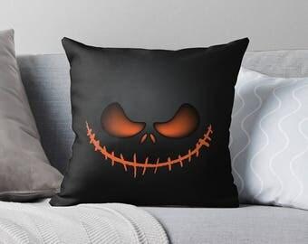 Nightmare Before Christmas   Nightmare Before Christmas Decor   Halloween Decor   Halloween Decorations   Halloween Throw Pillows