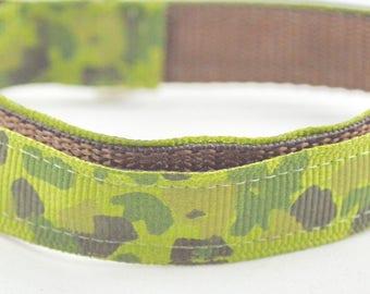 Camoflage Design Dog Collar