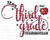 3rd grade teacher svg, third grade teacher svg, 3rd grade svg, third grade svg, back to school teacher svg, teacher svg files, 3rd grade
