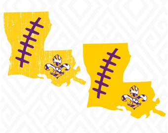 Distressed Louisiana Tigers; SVG, DXF, EPS, Ai, Jpeg, Png, and Pdf Cutting Files for Electronic Cutting Machines