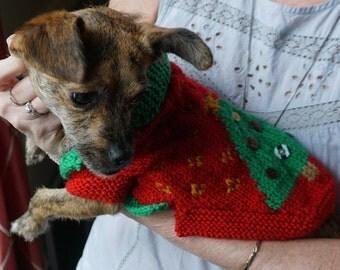 Tacky Christmas Dog Sweater