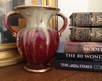 Mid Century Modern Atomic Star Vase