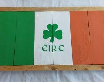 Cedar Irish flag