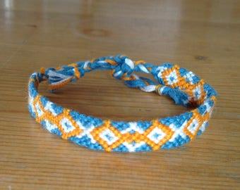 Friendship Bracelet / Bracelet Brazilian / embroidered, woven and hand made