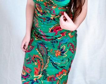 Festive Y2K, Vintage Inspired Dress (S/M)