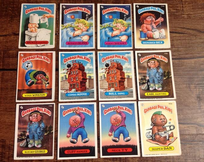 GPK 1986 5th Series - Garbage Pail Kids Trading Cards