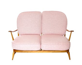 Ercol original 2 seater beech sofa