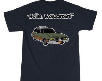 Hello, Wisconsin tshirt