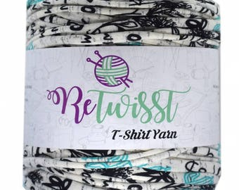 Retwisst T-shirt Fabric Yarn 120M Cotton Yarn Knitting Crochet Crocheting TY320