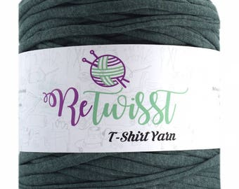 Retwisst T-shirt Fabric Yarn 120M Cotton Yarn Knitting Crochet Crocheting TY366