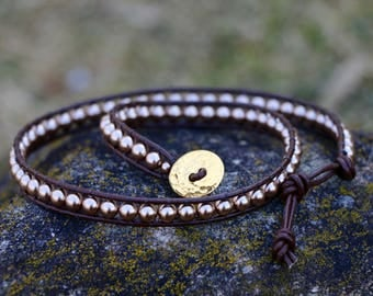 Swarovski Pearl Wrap Bracelet