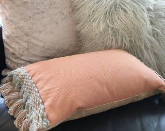 Tassled Cushion