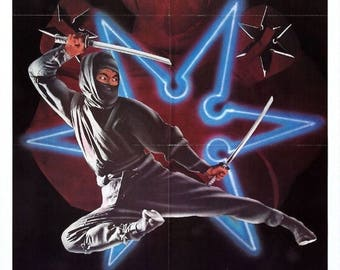 Back to School Sale: ENTER The NINJA Movie POSTER Rare Kung-Fu