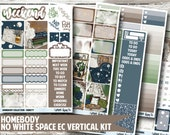 Homebody Planner Stickers - No White Space Kit