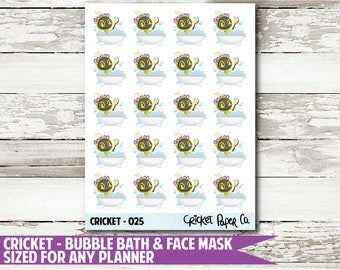 Cricket Character 025 Planner Stickers