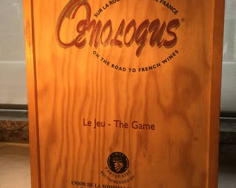 """Board games on the road of wines of France """"OENOLOGUS"""""""