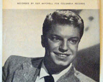 Singing The Blues, 1950s Hit Song. Guy Mitchell. Melvin Endsley. Nashville, Acuff-Rose 1954.