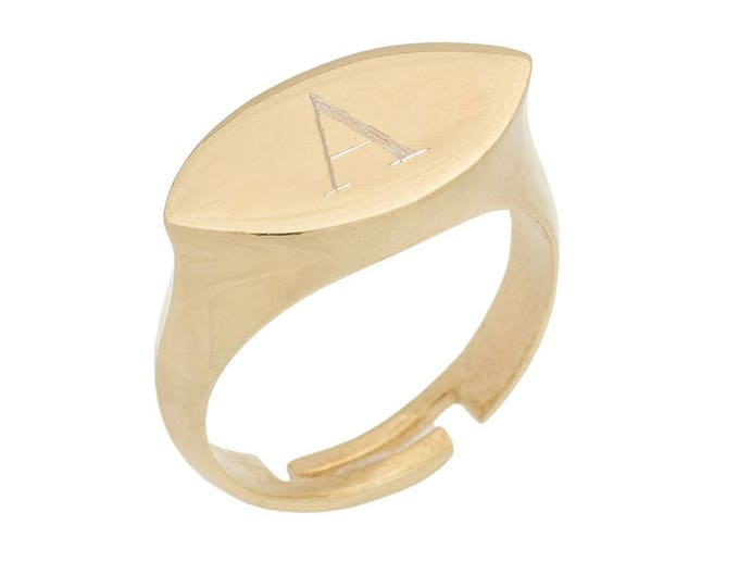 Flat Oval Initial Ring