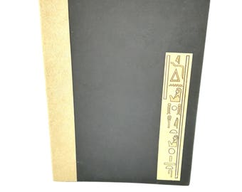 Egyptian inspired - diary - Notepad notebook