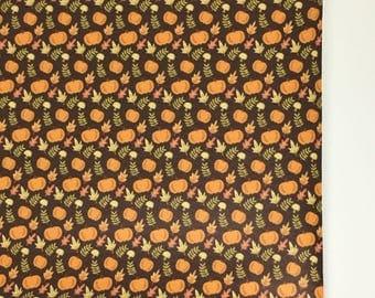Pumpkin Patch Faux Leather