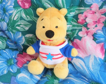 Baby Pooh Plush - Vintage Disney Winnie the Pooh - Baby Pooh Bear - Gift for Boy or Girl - Small Stuffed Animal - Vintage Winnie the Pooh