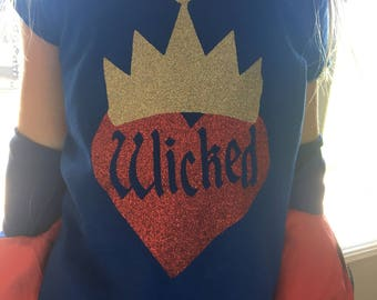 Evie inspired Wicked shirt