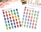 Recycling Planner Stickers for use in ERIN CONDREN LIFEPLANNER ™, Happy Planner, Tn, Midori,