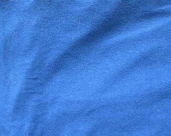 set of three pieces of Terry color blue