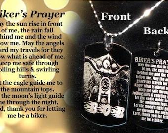 Bikers Prayer Etsy