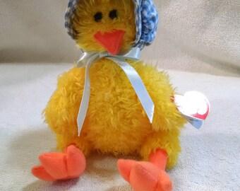 Bonnie Vintage Ty Plush Chick Beenie