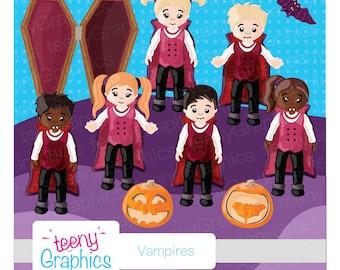 Halloween Clip Art, Vampire Set,Small Commercial Use,Digital clip art,Vector,Downloads,Scrap booking, Sale,vampire -clip04