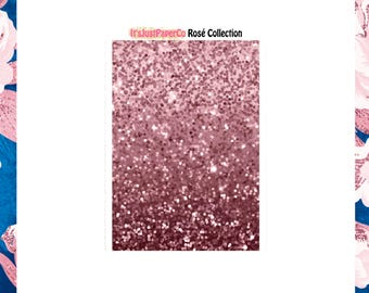 32 Glitter Headers (Rosé Collection)