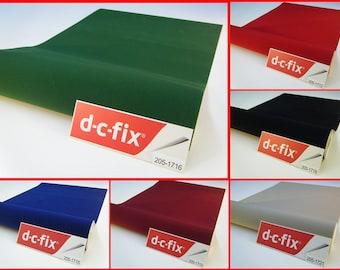 Contact Paper DC FIX Velvet Felt Sticky Back Plastic Self Adhesive Vinyl Film Contact Paper 5 meters x 45cm