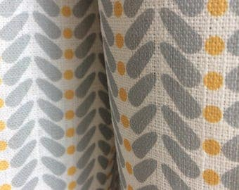 curtains made to measure yellow grey curtains linen curtains