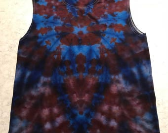 Size Large Ice Dyed Tank