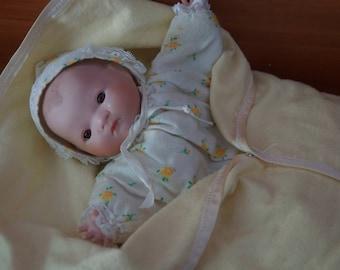 """Infant """"puppet"""" porcelain baby"""