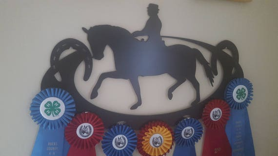 Horse Show Award Ribbon Display,Custom Ribbon Display,Horse Show Awards,Metal Sign,Metal Cut Sign,Horse Lover,Metal Art,Plasma Cut Sign
