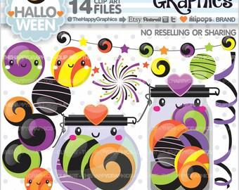 80%OFF - Halloween Clipart, Halloween Graphics, COMMERCIAL USE, Halloween Party, Planner Accessories, Halloween Celebration, Halloween Cute