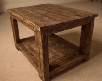 Rustic Coffee Table - Coffee Table - Reclaimed Wood Coffee Table