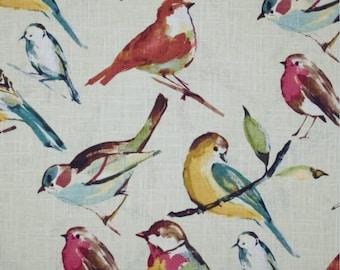 Richloom Birdwatcher Fabric Color Meadow