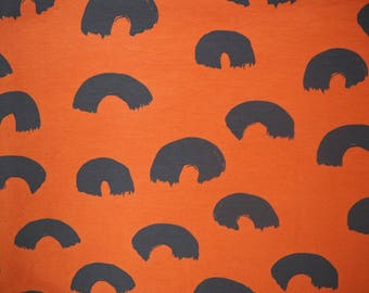 Papu stories jersey fabric papunen childrens fabric Finnish design Scandinavian