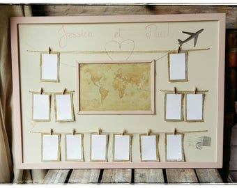 "Table plan ""travel"" """