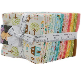 Home Sweet Home Fat Quarter Bundle - Stacy Iest Hsu - Moda Fabric - 28 pieces