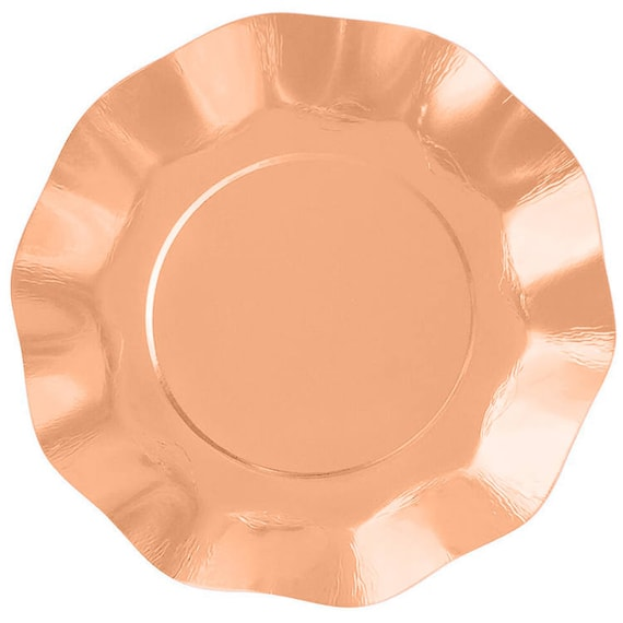Il_570xn  sc 1 st  Catch My Party & Plates | Rose Gold Metallic Ruffled Paper Plates 7"|570|570|?|en|2|f684a91e4546e13d9c50ce28d123f4bd|False|UNLIKELY|0.39816635847091675