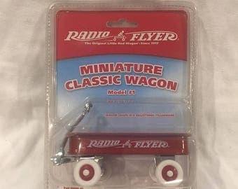 22%OFF Radio Flyer Miniature Classic Wagon (NOS*) - Model #1 - Ca 1980's