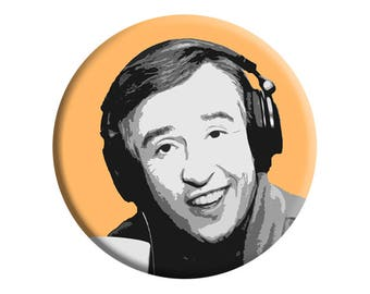 Alan Partridge TV badge [Steve Coogan]