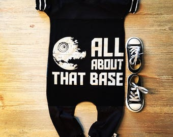 Star wars, baby romper, handmade baby bodysuit, custom baby gift, trendy toddler clothes, funny baby clothes, t-shirt romper, baby