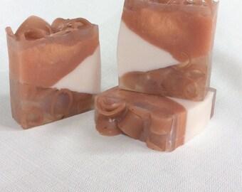Caramel Popcorn, Handmade soap, HoneyBarrel Soaps, Artisan Soap, Melt n Pour Soaps
